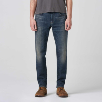 DSTLD Mens Slim Jeans in in Three Year Dark Blue