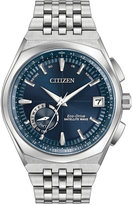 Citizen Men's Satellite Wave Stainless Steel Bracelet Watch 44mm CC3020-57L