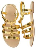 Gymboree Metallic Bow Sandals