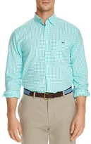 Vineyard Vines Elmont Gingham Tucker Classic Fit Button Down Shirt