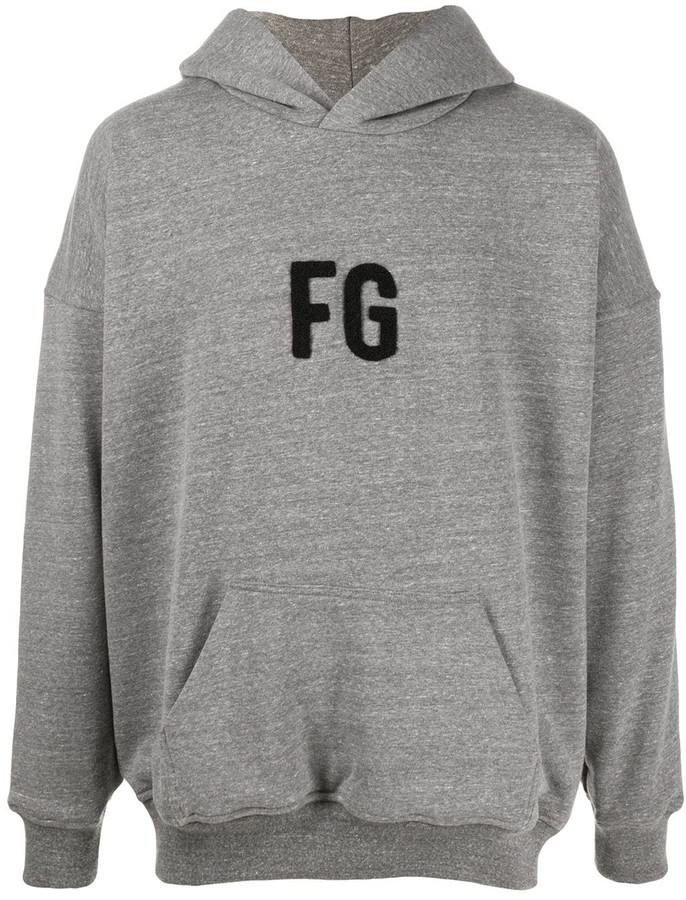 Fear Of God Fleece Monogram Hoodie