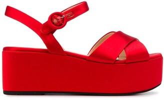 Prada Platform Sandals