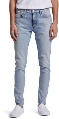Hudson Zack Ripped Skinny Fit Jeans