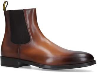 Doucal's Suede Augusta Flex Chelsea Boots