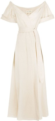 Mara Hoffman Adalina off-shoulder dress