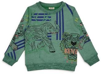Kenzo Kids Cotton Icon Tiger Sweatshirt