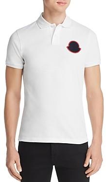 Moncler Macro Logo Regular Fit Polo Shirt
