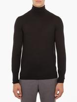 Acne Studios Black Joakim Roll-Neck Sweater