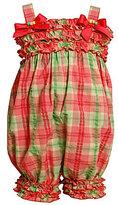 Bonnie Baby Infant Seersucker Plaid Party Pants