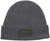 John Varvatos Men's 2 X 2 Rib Knit Hat with Cuff