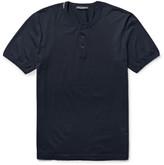 Dolce & Gabbana - Cotton-jersey Henley T-shirt