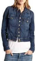 Current/Elliott 1600 The Snap Denim Jacket