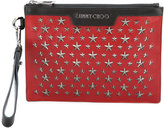 Jimmy Choo mini Derek clutch - men - Calf Leather/metal - One Size