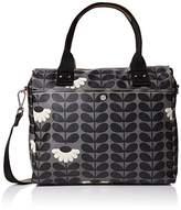 Orla Kiely Wild Daisy Print Zip Messenger Messenger Bag