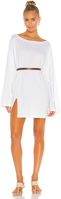 L'Academie Boat Neck Mini Dress