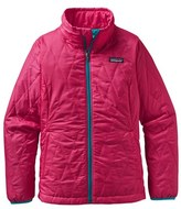 Patagonia Girl's 'Nano Puff' Wind Resistant & Water Repellent Jacket