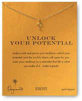 Dogeared Unlock Your Potential Necklace, 18""