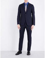 Armani Collezioni Modern-fit Wool-jacquard Suit