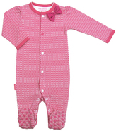 Kushies Fuchsia I Love Spring Front Snap Sleeper - Infant