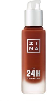 3INA The 24H Foundation 30Ml 672 Cococa