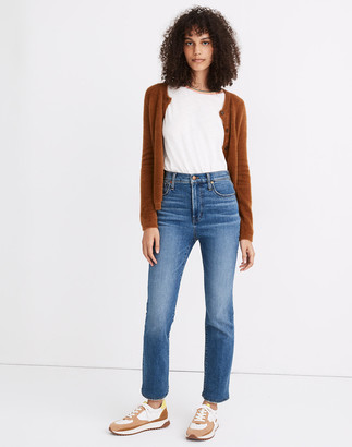 Madewell Petite Slim Demi-Boot Jeans in Northaven Wash