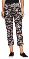 Love Moschino Printed Cropped Skinny Jean