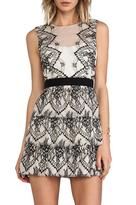 BCBGMAXAZRIA Collier Dress