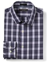 Banana Republic Grant-Fit Non-Iron Plaid Shirt
