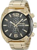 Diesel Men's DZ4342 Overflow Gold Watch