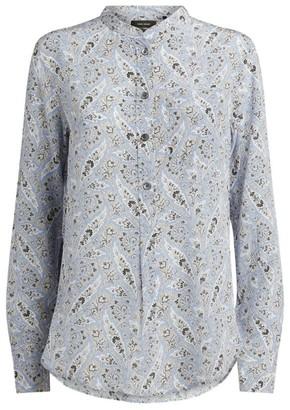 Isabel Marant Silk Rusak Paisley Shirt