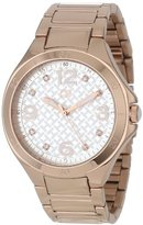Tommy Hilfiger Women's 1781316 Crystal-Accented Rose Gold-Plated Watch