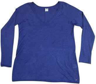 Des Petits Hauts Blue Linen Knitwear for Women