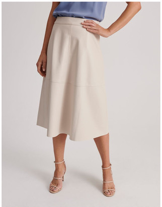 Basque Pu Full Skirt