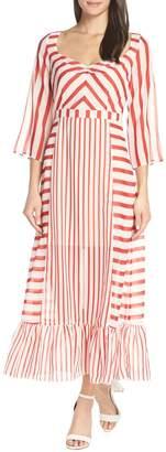 Chelsea28 Multi Stripe Maxi Dress
