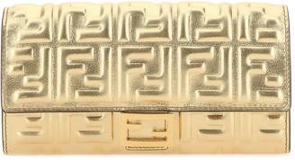 Fendi FF Motif Continental Wallet