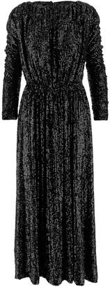 Saint Laurent Sequins Women's Long Dress