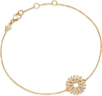 Astley Clarke Rising Sun 14ct yellow gold and diamond bracelet
