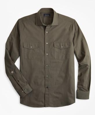 Brooks Brothers Riccardo Pozzoli for The Military Shirt