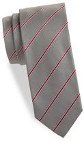 HUGO Diagonal Striped Silk Tie