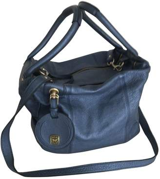 See by Chloe Blue Leather Handbags