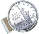 American Coin Treasures Liberty Silver Dollar Money Clip