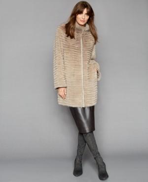 The Fur Vault Mink & Rabbit-Fur Reversible Jacket