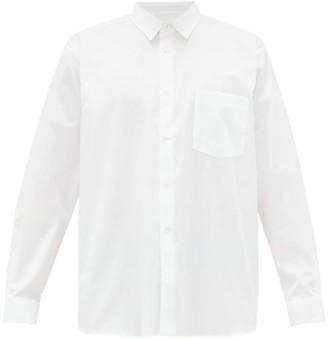 Comme des Garcons Cotton-poplin Shirt - Mens - White