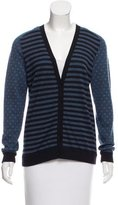 Akris Punto Patterned Wool-Blend Cardigan