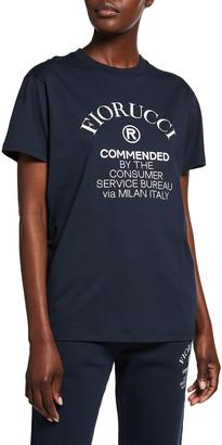 Fiorucci Unisex Commended Logo T-Shirt