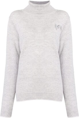 MSGM Roll-Neck Cashmere-Wool Knit Jumper