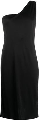 Versace Pre-Owned Single Shoulder Slim-Fit Dress