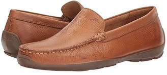 Tommy Bahama Orion (Dark Brown Perforated) Men's Slip on Shoes