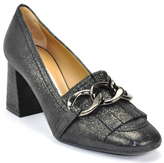 Roberto Festa Beverly - Rock Leather Pump with Kilty
