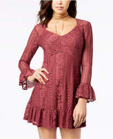 American Rag Juniors' Lace Empire-Waist Dress, Created for Macy's